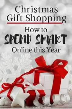 Having a strategy to spend smart on your Christmas Gift shopping helps make sure that you aren't overpaying or missing out on deals for the gifts that you're buying online.