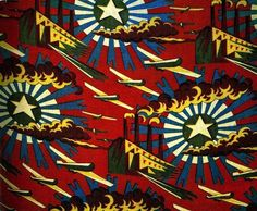 The Soviets used many methods to spread their vision of communism: movies, art, science fiction novels . . . and even textile patterns. These gorgeous textiles, created in the 1920s, show how the communist ideal was woven into the fabric of everyday life in Russia during the early days of the Revolution.
