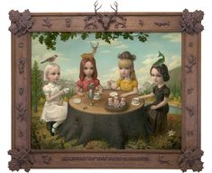 59 Allegory of the Four Elements - Mark Ryden (2006)