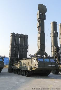 "S-300VM ""Antey-2500""  Russian anti-ballistic missile system."
