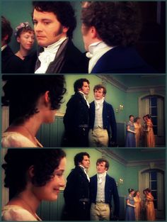 Pride and Prejudice   ~ Mr Darcy, Elizabeth Bennet and Mr Bingley ~