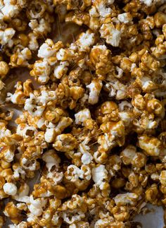 Salted Caramel Popcorn recipe from PBS Food