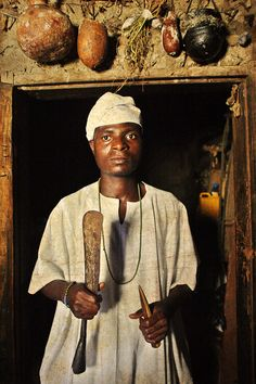Emissaries of an iconic religion4. Orisa Ifa [diety of all good things] - Wale Kasimawo Akintoye