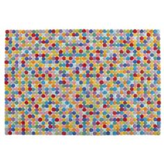 Jellybean Rug  | The Land of Nod  Love the colors!!! would look great in a kids play room!!
