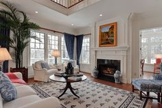 Columbus Residential - traditional - living room - columbus - Arc Photography