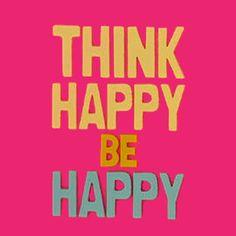 Think happy be happy - Iphone case