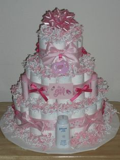 Diaper cake, I need to master this in a few months