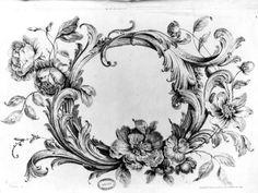 [Ornement rocaille] Huquier, Gabriel 18e siècle