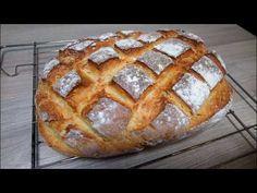 Kulinarne przygody: Domowy chleb z chrupiącą skórką na maślance Bread, Make It Yourself, Baking, Youtube, Cakes, Destinations, Cake Makers, Brot, Bakken