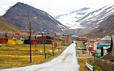 Longyearbyen  the world's most northerly town is full of surprises  by Jack Souther