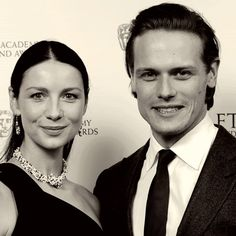 Caitriona Balfe & Sam Heughan Attending the BAFTA Scotland Awards 2016 Cat Valentine Victorious, Laura Donnelly, Ariana Grande Facts, Richard Rankin, Sam Heughan Caitriona Balfe, Sam Heugan, Sam And Cat, Jason Derulo, Famous Couples