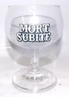 Taça Colecionável Cerveja Mort Subite Belga Rara - R$ 58,00 em Mercado Livre