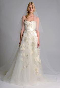 Marchesa Fall 2014 Wedding dress