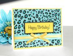 Handmade Birthday Card - Wild Child - Free US Shipping. $4.95, via Etsy.