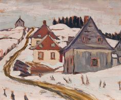 Frederick Banting - St. Irenee Quebec Near Murray Bay 8.5 x 10.5 Oil on board (1931) Tom Thomson, Group Of Seven, Fine Art Auctions, Art Of Living, Frederick Banting, Grant, Landscape, Collection, Painting