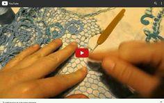 Irish Crochet filling Stitches