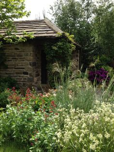 Leeds City Council garden from Chelsea Flower Show now at Roundhay Park Leeds.