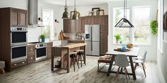 Introducing the new Samsung Built-In Kitchen Appliances. With steam cook wall ovens, WiFi connectivity, and flexible cooktops, you get the latest innovation & perfect style for a beautiful kitchen.