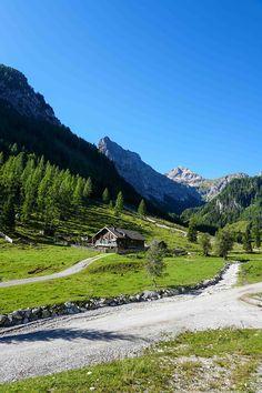 Wandern zu den Marbachalmen - ideal für Familien, auch mit Kinderwagen möglich Salzburg, Rafting, Mountains, Nature, Travel, Roller Coaster, Tourism, Families, Pram Sets