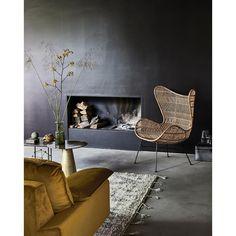 Canapea din catifea pentru 4 persoane Hazel HK Living