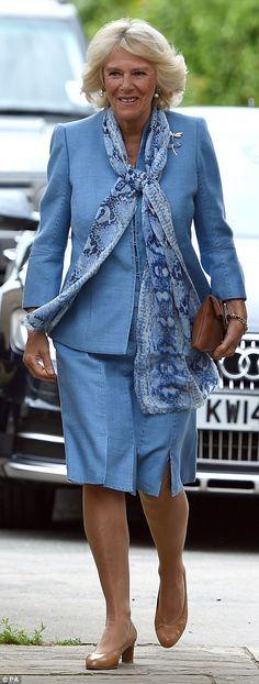 Duchess of Cornwall Camilla gets a VERY expensive makeover at Jo Hansford salon Camilla Duchess Of Cornwall, Duchess Kate, Duchess Of Cambridge, Jo Hansford, Camilla Parker Bowles, Isabel Ii, Elisabeth, Princess Charlotte, Cornwall