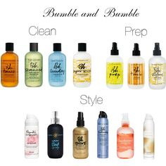 best products to have in your possession for the best hair for 2014 #besthair #bumbleandbumble