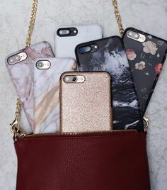 Our bag is full iPhone 6/6s, 6 Plus/6s Plus, 7 & iPhone 7 Plus Cases from Elemental Cases elementalcases.com