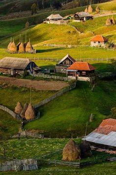 Rumanía, montañas