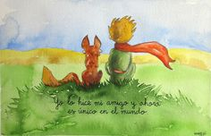 The Nicest Pictures: domesticar Little Prince Quotes, The Little Prince, The Petit Prince, Foto Transfer, More Than Words, Spanish Quotes, Decir No, Fairy Tales, Feelings
