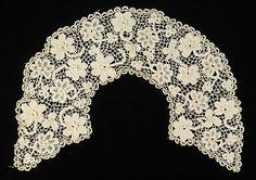 Collar, Irish crochet