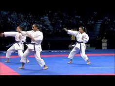 Karate Female Team Kata Bronze Medal - Serbia vs Italy - WKF World Champ...