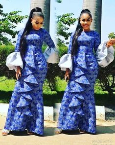 9627c388554d6 Amazing Top and Trouser Aso Ebi Styles 2018 for Stylish Wedding Guests. Amazing Top and Trouser Aso Ebi Styles 2018 for Stylish Wedding Guests