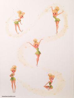Tinker Bell by Liana Hee