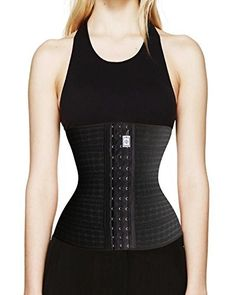 Junlan Women Waist Trainer Weight Losing Shaper Burn Fat Burning Hourglass XL Black ** More info could be found at the image url.  This link participates in Amazon Service LLC Associates Program, a program designed to let participant earn advertising fees by advertising and linking to Amazon.com.