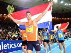 Atleet Sintnicolaas Europees kampioen indoor | First Dutchie to become European Champion heptathlon, go Eelco