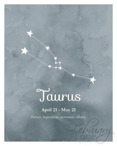 Taurus Constellation Tattoo