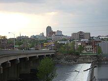 Allentown, PA : The skyline of Allentown, the third largest city in Pennsylvania. http://pinterest.com/hamptoninnmonro/ #hamptoninnmonroeville http://www.facebook.com/#!/HamptonInnMonroeville