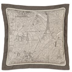 Eastern Accents Daphne Trompe Throw Pillow