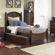 FREE SHIPPING! Shop Wayfair for Liberty Furniture Abbott Ridge Bed in Cinnamon - Great Deals on all Furniture products with the best selection to choose from!