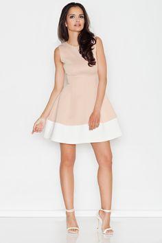 Sukienka nude