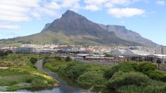 Confluence of the Salt River and the Black River in Cape Town Airline Flights, Cape Town, South Africa, Mango, Salt, River, City, Photography, Outdoor