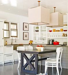 Bright, neutral color schemes remain a top trend for kitchens. Neutral paint hues for walls with white cabinets are common, but there are also many other stunning options to try.