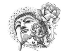 If you're planning to get a Buddha tattoo design, you've come to the best place. We have the best & most beautiful Buddha tattoos for inspiration. Buddha Tattoos, Buddha Tattoo Design, Tattoo Design Drawings, Tattoo Sketches, Buddah Sleeve Tattoo, Geisha Tattoo Design, Japanese Tattoo Designs, Japanese Sleeve Tattoos, Tattoo Designs Men