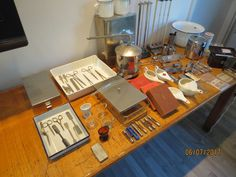 Collectie medische instrumenten