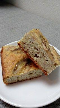 No sugar! Banana Rum Cake