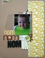 To stinkin' cute...A Project by Paperclips29 from our Scrapbooking Gallery originally submitted 09/18/12 at 03:32 AM