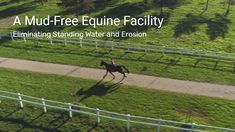 Stuck inside due to mud, rain, and standing water? VersiGrid can help solve your mud woes! Keep your paddocks, animals, and riding arenas clean and mud-free! Safe and stable riding areas for both the animal and rider! Why settle for less? Use the strongest and most durable equine mud control grid system available! Permanently eliminate mud and standing water while being environmentally friendly! Have a project in mind? We would love to hear from you!