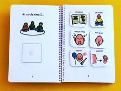 My Day at School - Preschool Autism Visual Aid - PECS