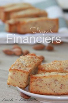 Financier Almond Pastries So cute for Valentines Day!Amazingly Delicious French Financier Almond Cakes by Lavende & LemonadeSo cute for Valentines Day!Amazingly Delicious French Financier Almond Cakes by Lavende & Lemonade French Desserts, Mini Desserts, Just Desserts, Delicious Desserts, Gourmet Desserts, French Sweets, Plated Desserts, Baking Recipes, Cake Recipes
