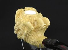 Dragon Claw Meerschaum Pipe Hand Carved Tobacco Smoking Pipe